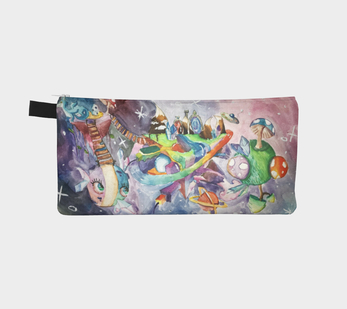 Imaginary to reality Pencil Case by Justine Gingras