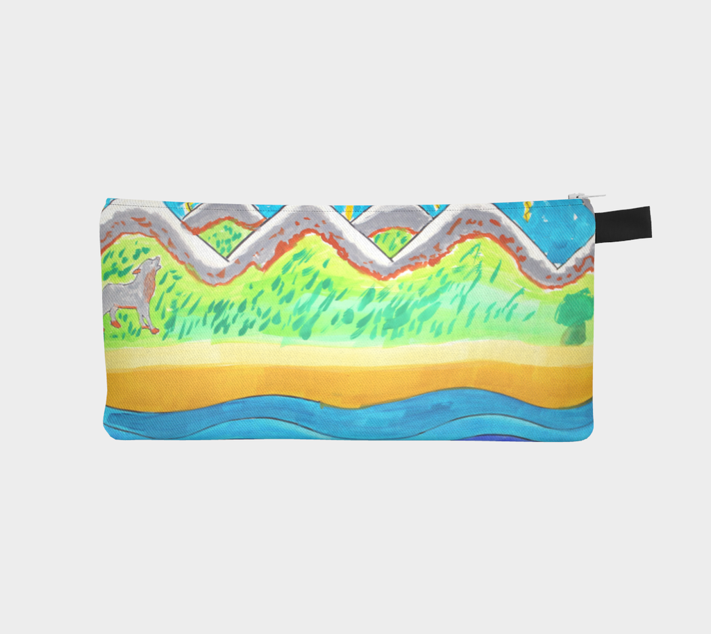 Imaginary to reality Pencil Case by Frederic Gallese