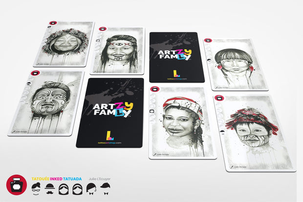 ART•ZY FAM•LY  - A Modern Happy Family Game