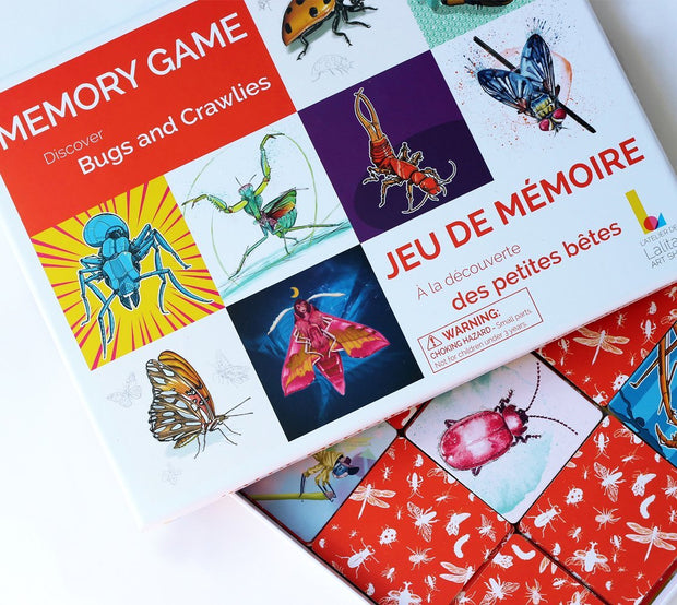 Learn through Art and Play! Discover the world around you with this educational memory game!