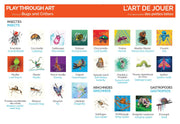 Illustrated and bilingual Lexicon to Learn through Art and Play! Discover the world around you with this educational memory game!