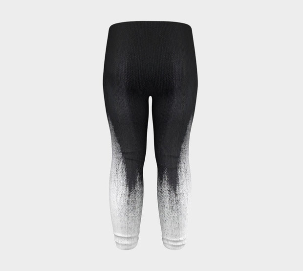 Abstract Brush Stroke Baby Legging