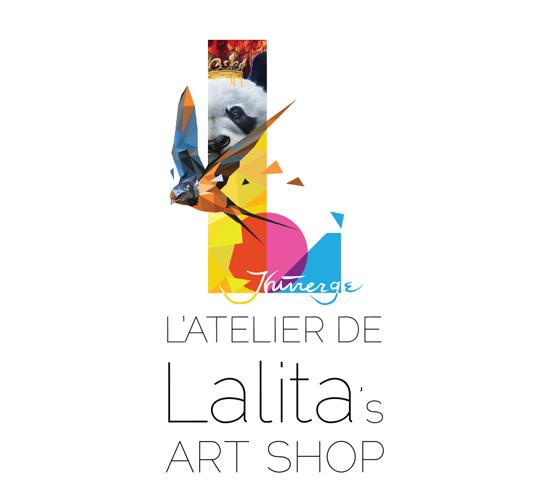 Every Lalita's Art Shop Artist has their own personalized logo, this is the one of Wildlife painter CLaude Thivierge.