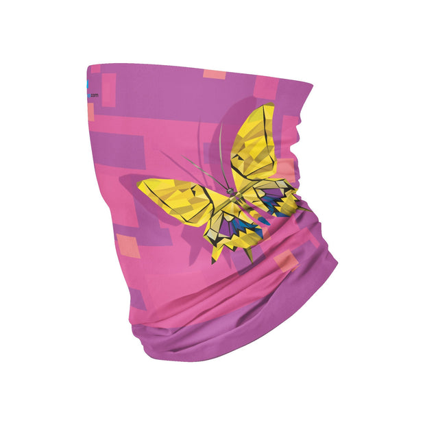 Butterflies Multifunctional Tube -Face Mask