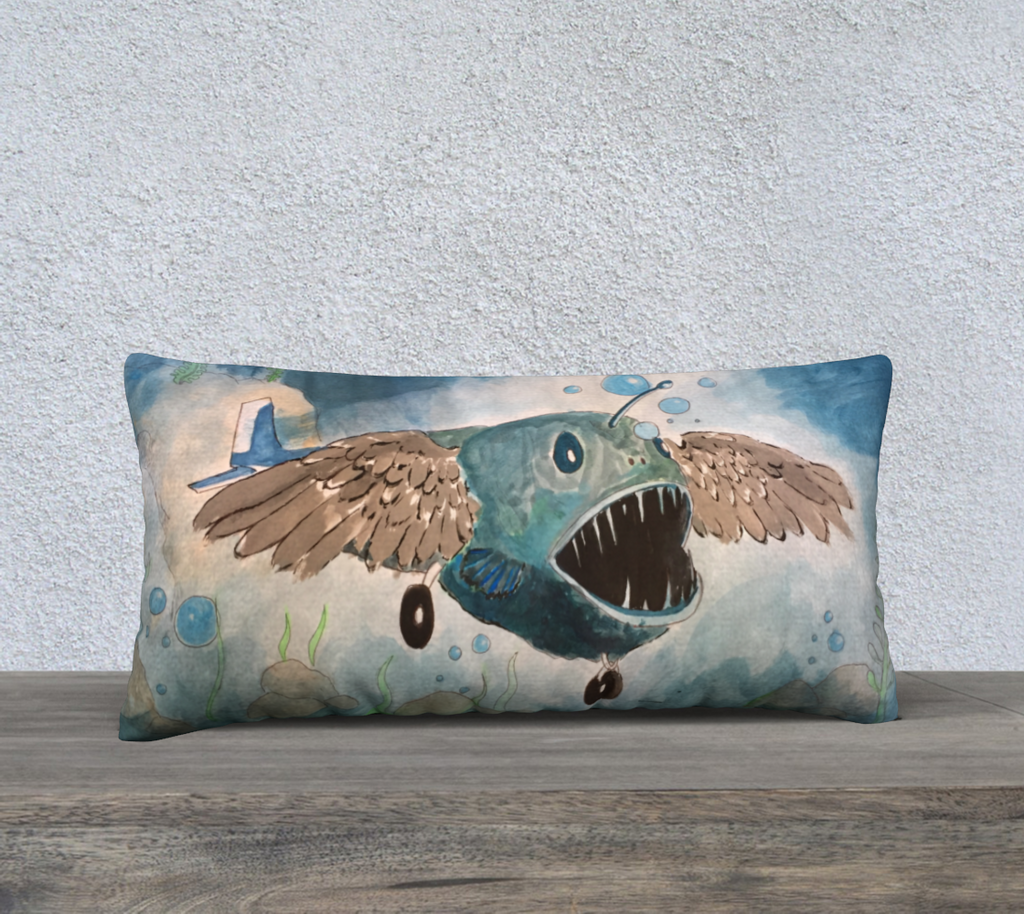 "Pillow Case by  Francisco Vladimir Medina - Winner of the ""Hybrid Creature"" school contest"