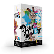 Discover our new, and improuve Artzy famly game ! Pur family fun !