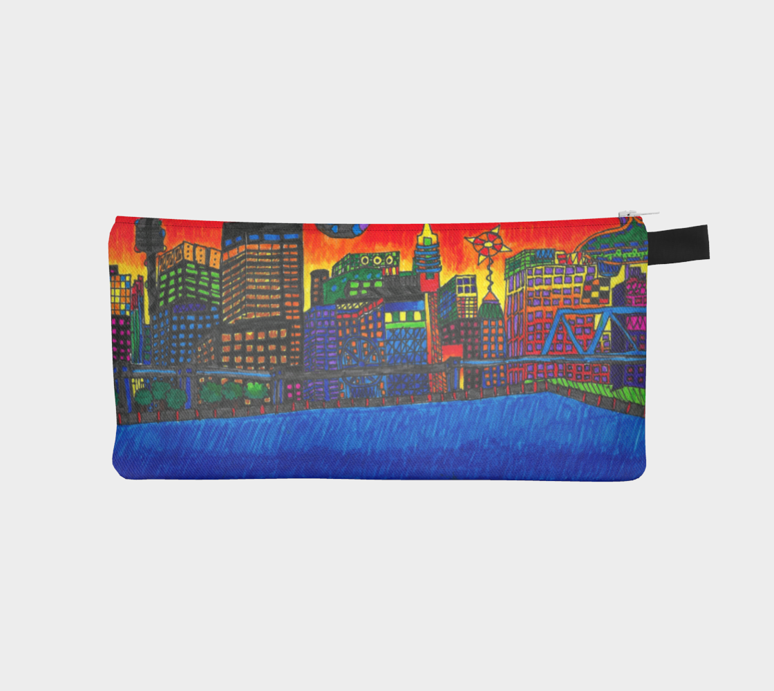 Imaginary to reality Pencil Case by Leo Lajeunesse