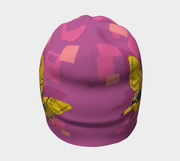 View of the almost seamless beanie by Lalita's Art Shop