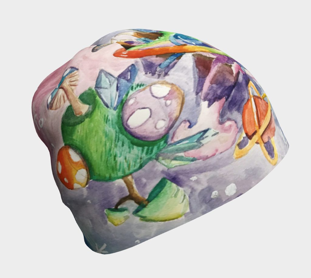 Imaginary to reality Grow-With-Me Beanie by Justine Gingras
