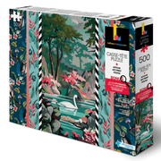 Discover the coolest of art jigsaw puzzle illustrated by professional visual and contemporary artist Marrie-Claude Marquis