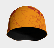 Knights and Dragons (orange) Beanie