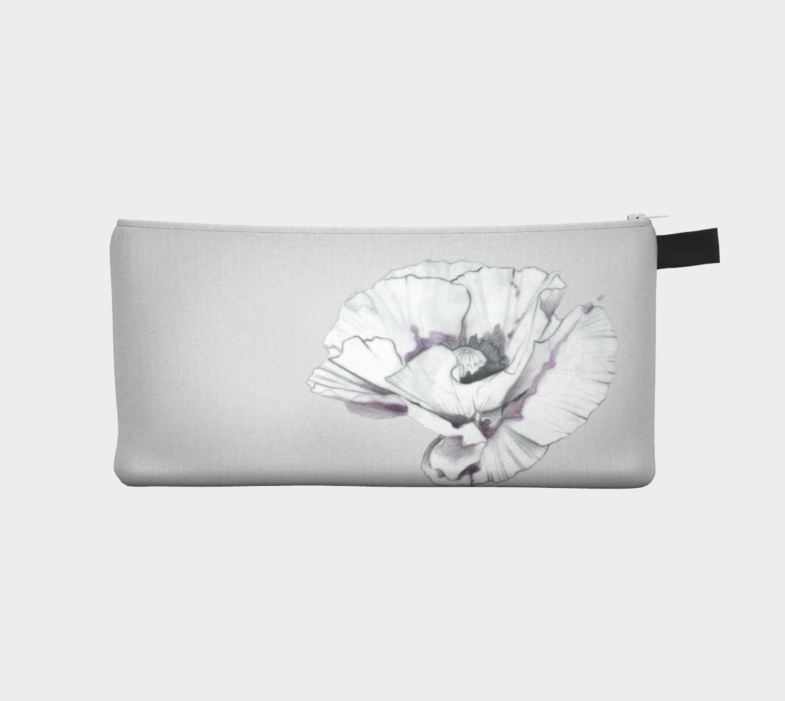 Poppy Pencil case by Julie L'Ecuyer