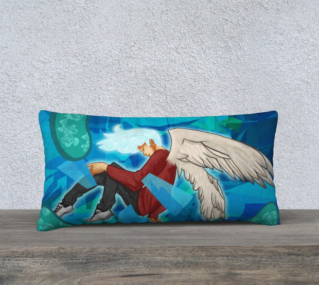 Head In The Clouds Pillow Cover 24 X 12