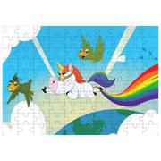 Image of the 100 pieces lalita's Art Shop Unicorn Puzzle