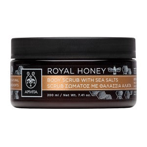 Apivita Royal Honey Body Scrub Με Θαλάσσια Άλατα 200ml