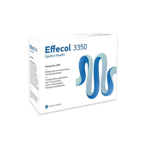 Epsilon Health Effecol 3350 12 φακελίσκοι-pharmacybay