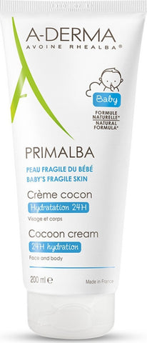 A-Derma Primalba Baby Gentle Cocoon Cream 200ml