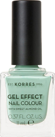 Korres Gel Effect Nail Colour 35 Mint Green