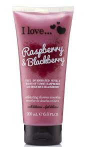 I Love Exfoliating Shower Smoothie Raspberry & Blackberry 200ml-pharmacybay