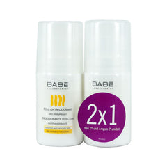 Babe Roll-On Deodorant 1+1 Δώρο (50ml + 50ml)