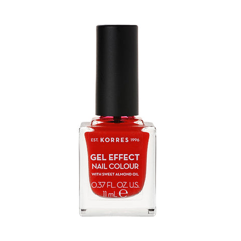 Korres Gel Effect Nail Colour 48 Coral Red-pharmacybay