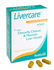 Heanth Aid Livercare 60 Ταμπλέτες