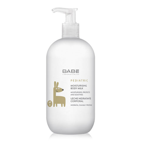 Babe Pediatric Moisturizing Body Milk 500ml