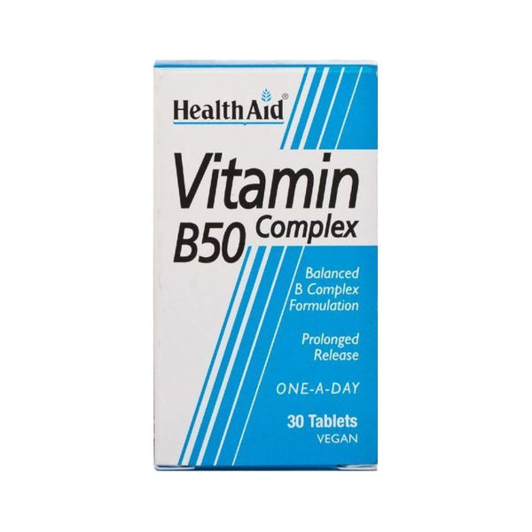 Health Aid B50 Complex 30 ταμπλέτες