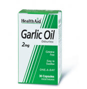 Health Aid Garlic Oil 2Mg 30 Tabs