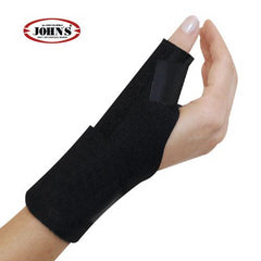 John's Spika Wrap Around Black Line One Size 120217