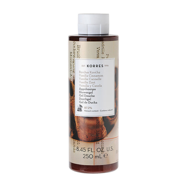 Korres Showergel Vanilla / Cinnamon 250ml
