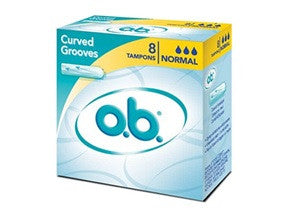 Ob Ταμπόν Pro Comfort Curved Grooves Normal X8