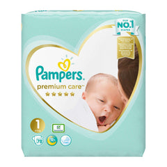 Pampers Premium Care No 1 (2-5Kg) 78τμχ