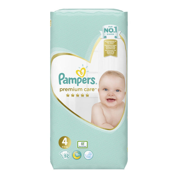 Pampers Premium Care No 4 (8-14kg) 52 τμχ