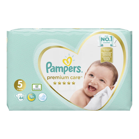 Pampers Premium Care No 5 (11-18kg) 44 τμχ