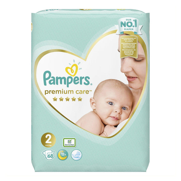 Pampers Premium Care  Νo 2 (4-8kg) 68τμχ