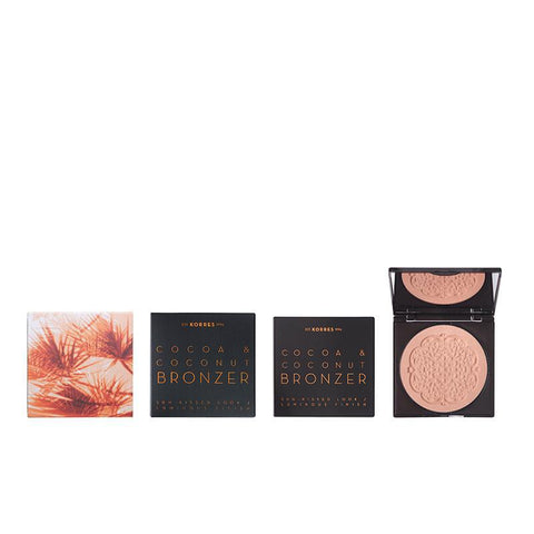 Korres Cocoa & Coconut Bronzer 01 Light Shade 10g