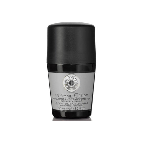 Roger & Gallet L'Homme Cedre 48H Anti Perspirant Deodorant Roll-On 50ml