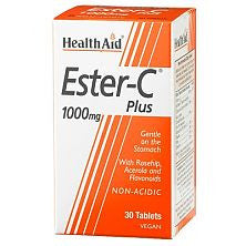 Health Aid Ester C 1000mg tablets 30s