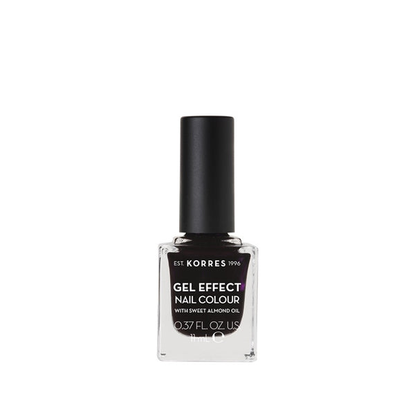 Korres Gel Effect Nail Colour 76 Smokey Plum-pharmacybay
