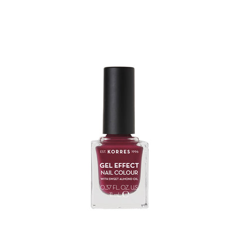 Korres Gel Effect Nail Colour 74 Berry Addict-pharmacybay