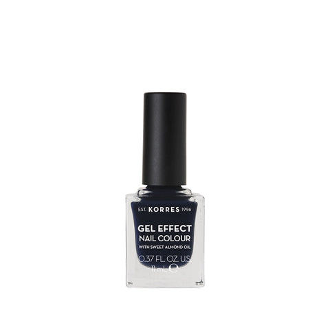 Korres Gel Effect Nail Colour 88 Steel Blue-pharmacybay