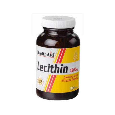 Health Aid Lecithin 1200mg 100 Caps-pharmacybay