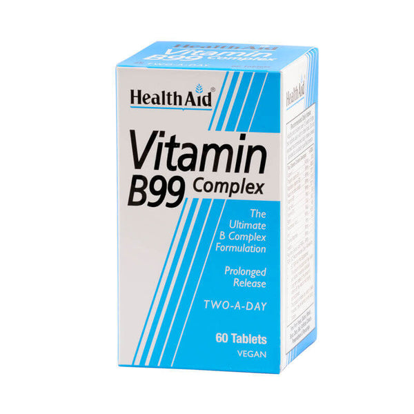 Health Aid Vegan Vitamin B99 Complex 60 Tablets