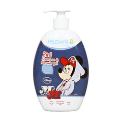 Helenvita Mickey Kids 2 in 1 Shampoo & Shower Gel 500ml