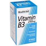 Health Aid Vitamin B3 250mg 90 ταμπλέτες-pharmacybay