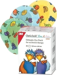 3M Opticlude Boys And Girls Mini 20 Τεμάχια 5,0cm x 6.2cm