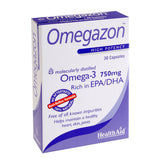 Health Aid Omegazon 750Mg 30Caps Blister-pharmacybay