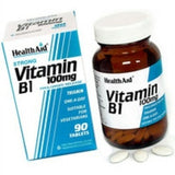 Health Aid Vitamin B1 100mg 90 ταμπλέτες