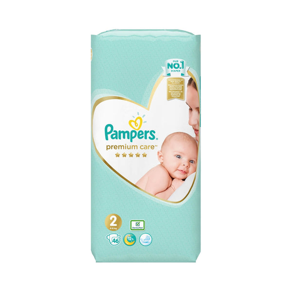 Pampers Premium Care Νο 2 (4-8kg) 46τμχ